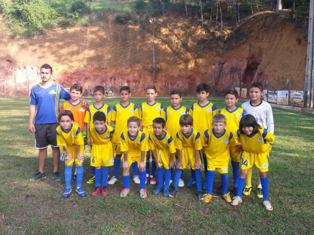 Equipes de Itarana participam do 10º Campeonato Serrano Infantil de Futebol
