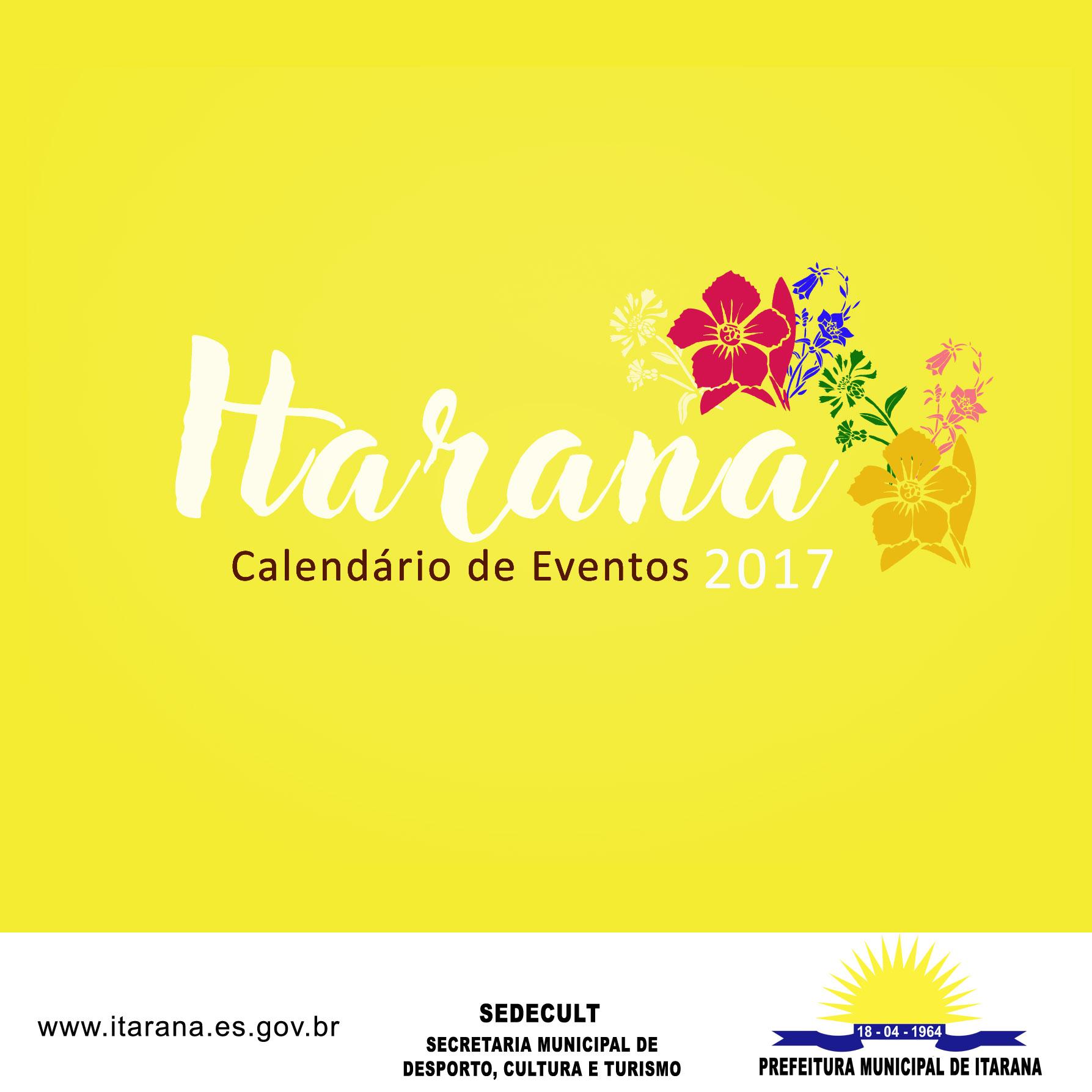 Secretaria de Turismo apresenta segunda edição do Calendário de Eventos de Itarana