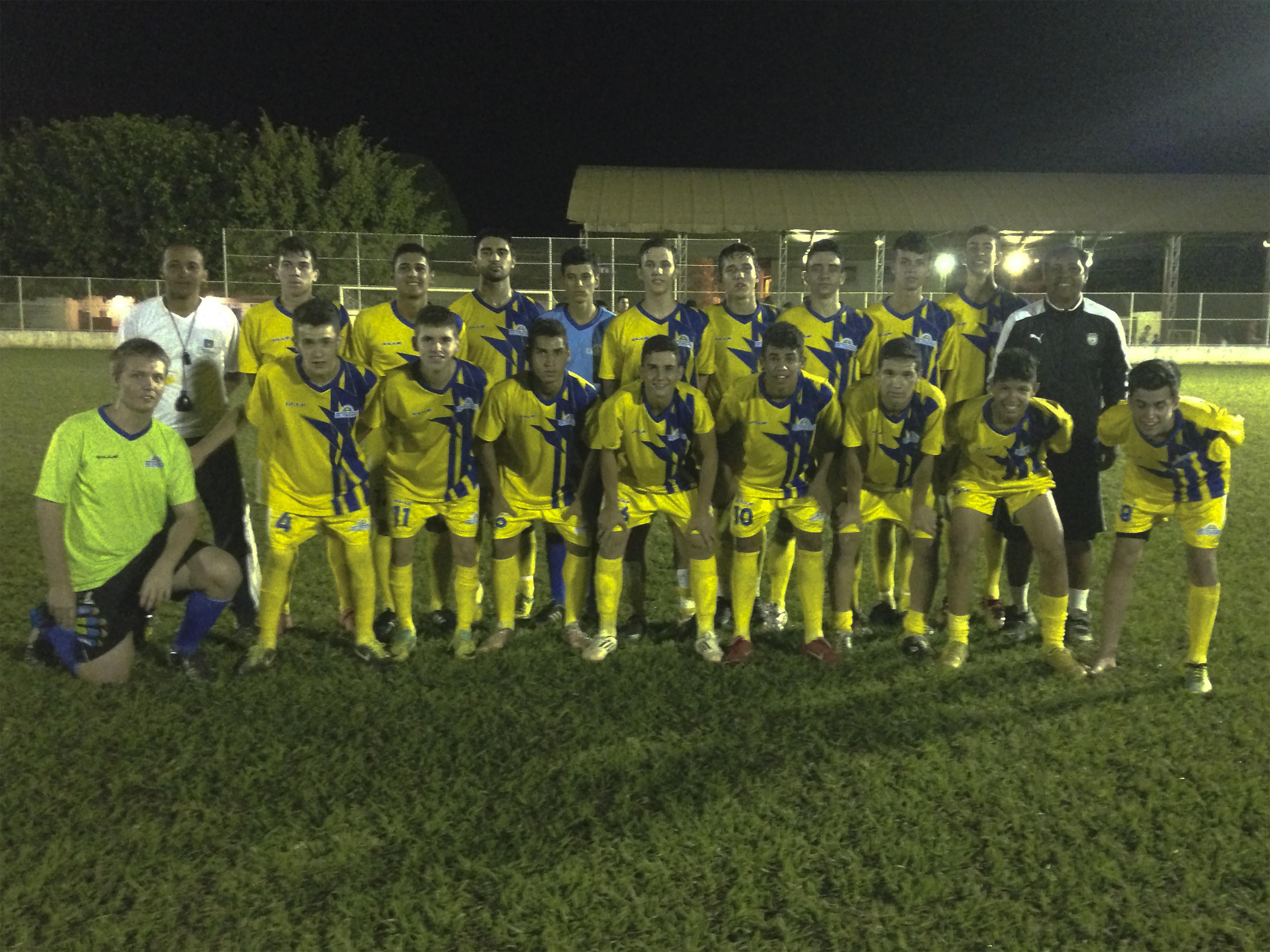 Equipe Sub 17 de futebol chega a final do Campeonato Centro Serrano