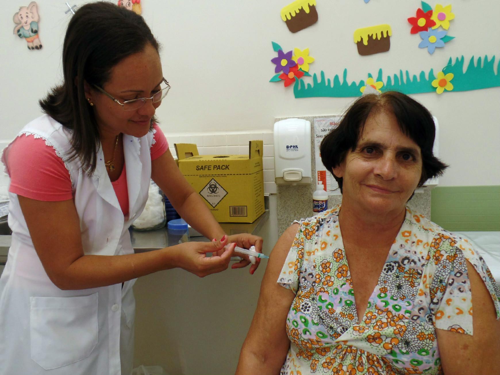 Campanha de vacinação contra gripe influenza começou em Itarana