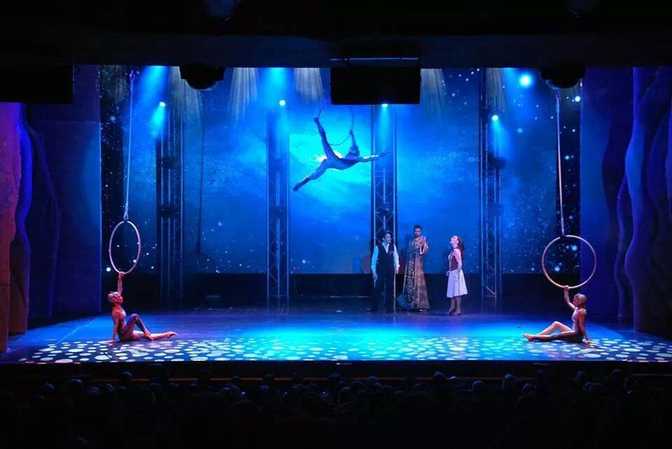 Circo Mundo Mágico Spacial se apresenta no domingo (31) em Itarana