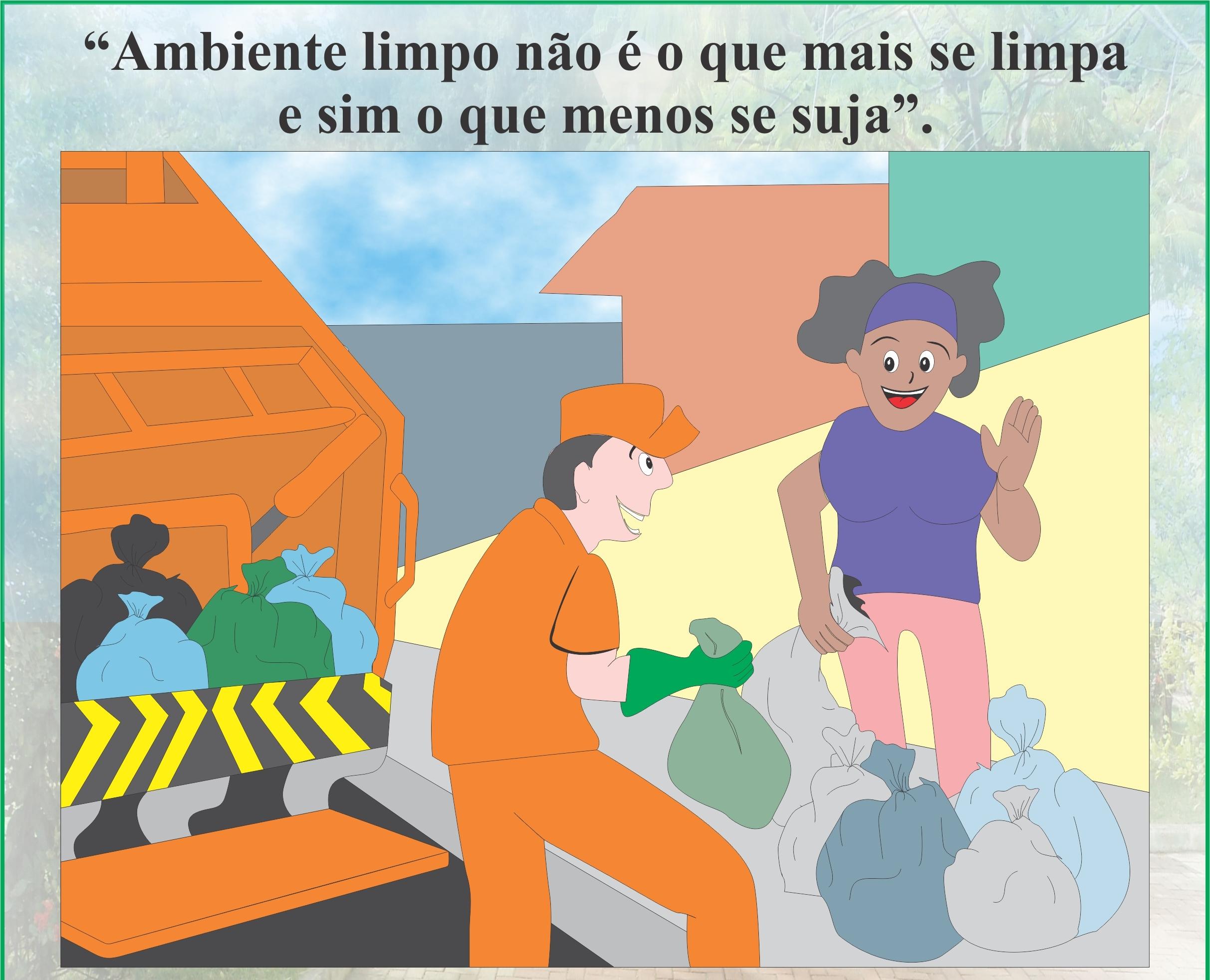 Participe e colabore com a limpeza da sua Cidade