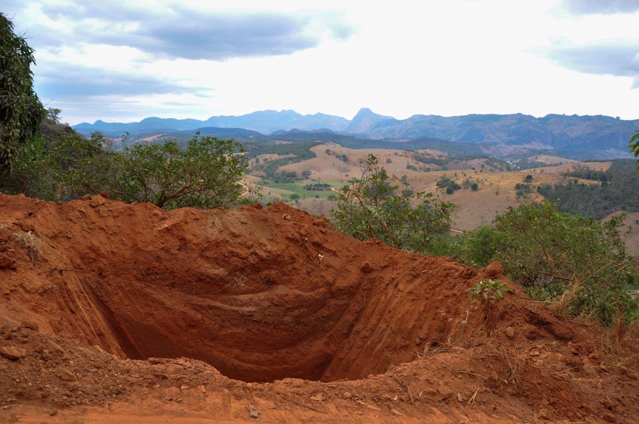 Caixas secas são construídas em Itarana para minimizar os impactos da chuva
