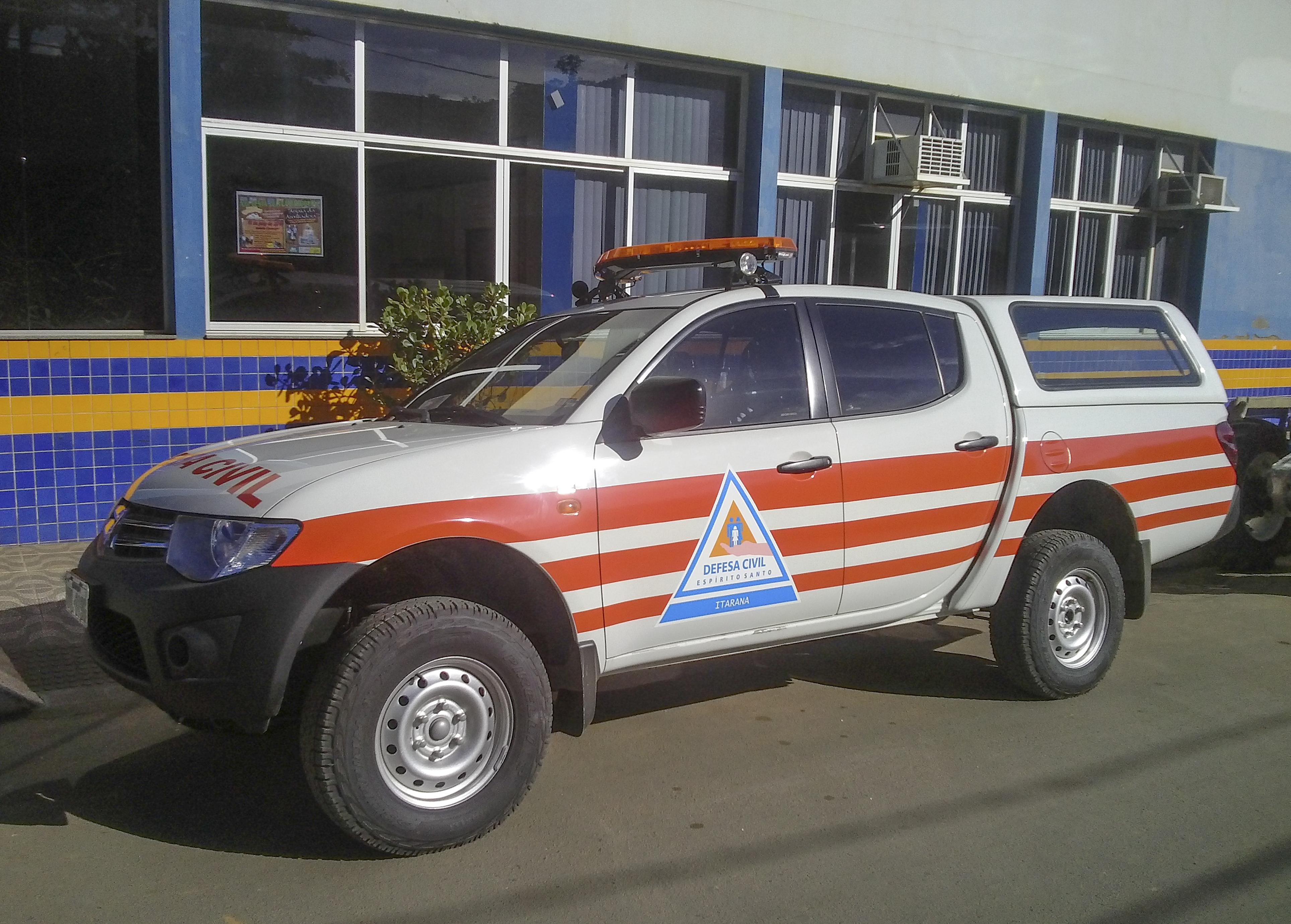 Itarana recebe Kit Defesa Civil