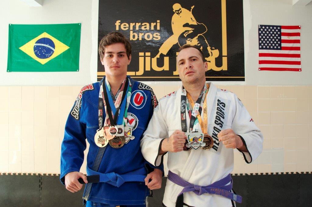 Itaranenses conquistam medalhas em competição mundial de Jiu Jitsu