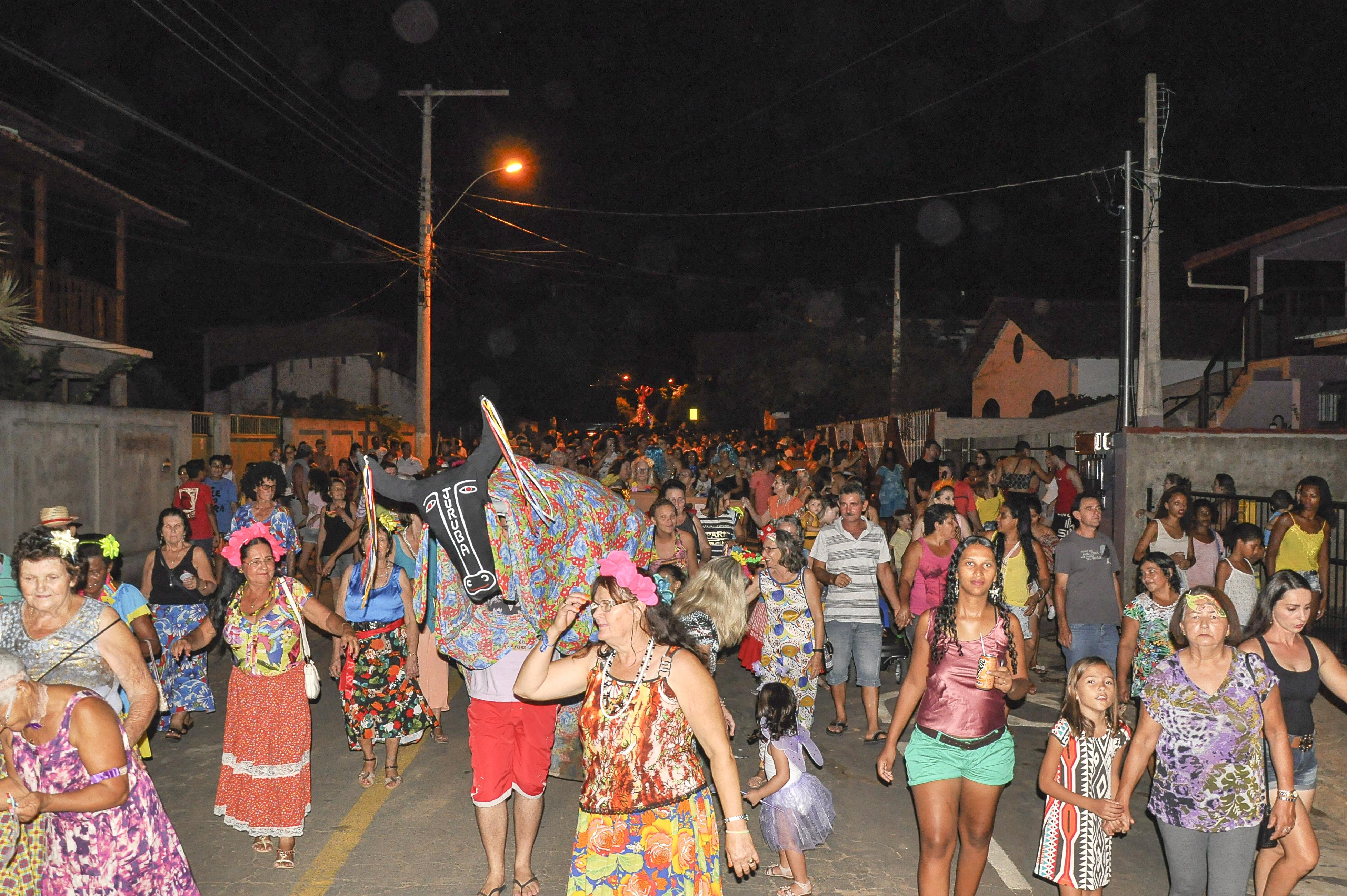 Grito de Carnaval agitou a cidade no final de semana
