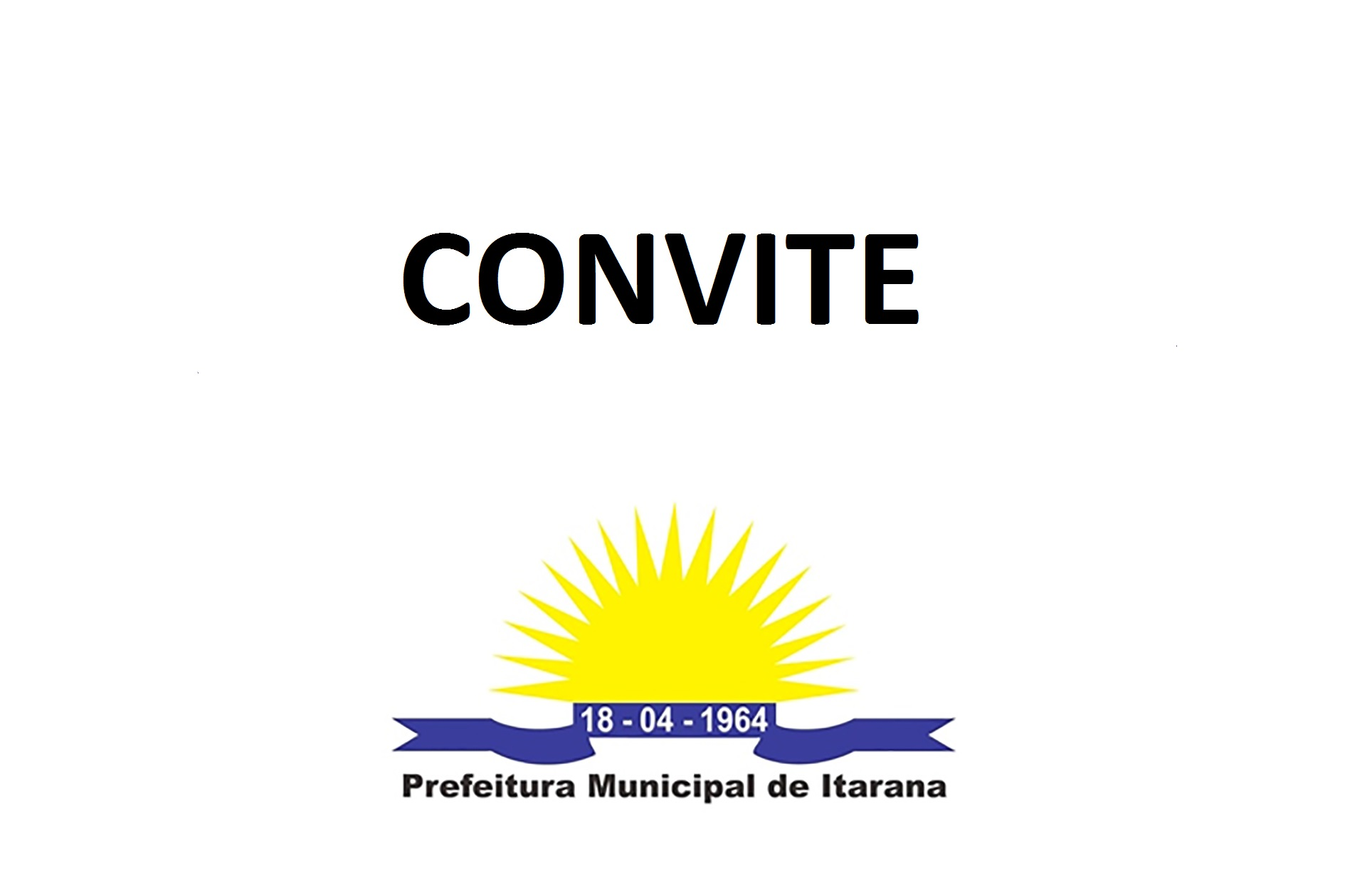 Convite: assinatura de ordem de serviço para manutenção do asfalto de Limoeiro de Santo Antônio