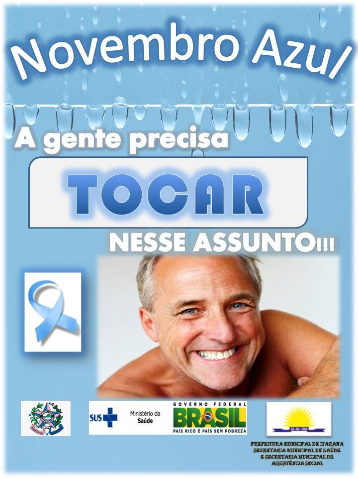 Caminhada do Novembro Azul acontece na sexta-feira (21) em Itarana