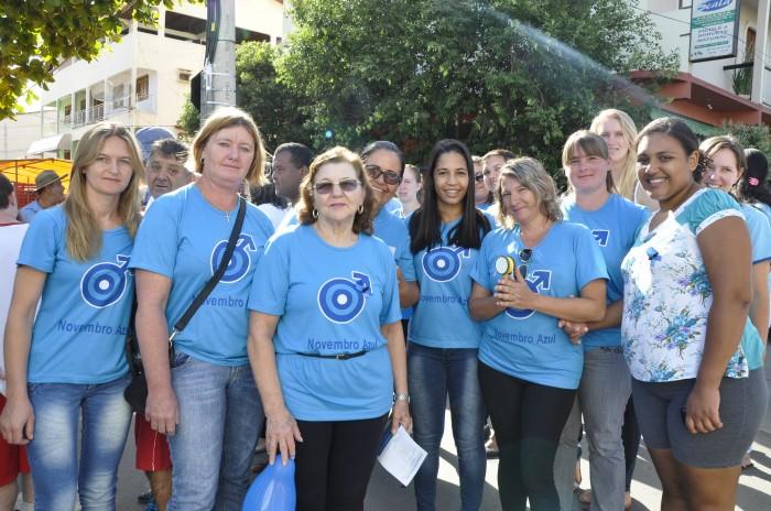 Itarana realiza caminhada em apoio ao Novembro Azul