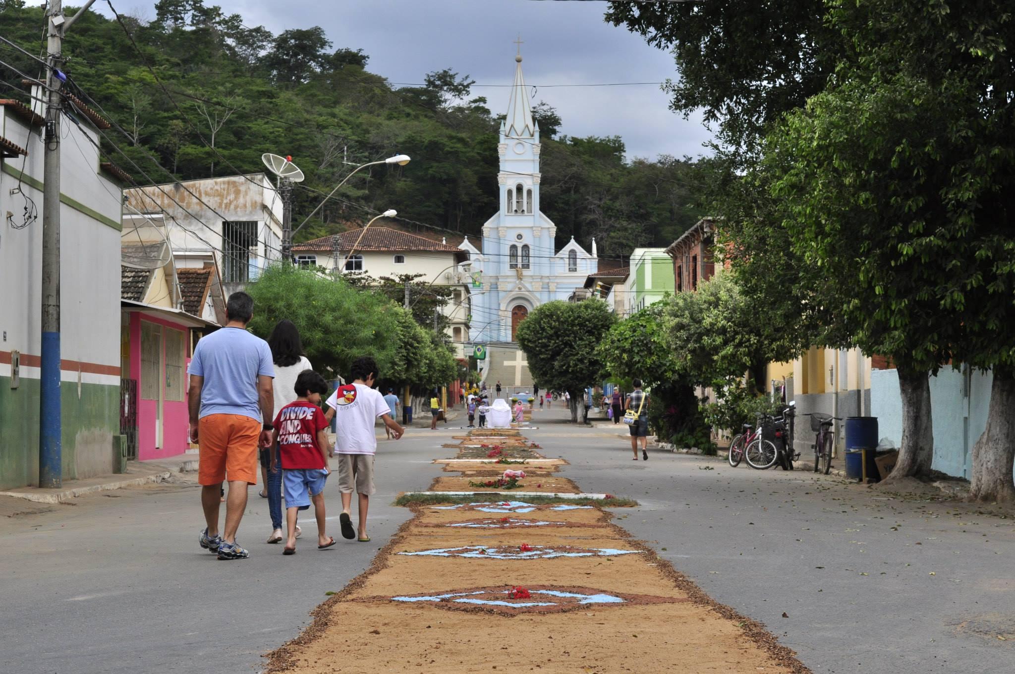 Ruas ficarão interditadas durante o feriado de Corpus Christi em Itarana