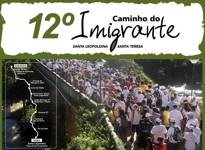 Município vai oferecer transporte para o 12º Caminho do Imigrante