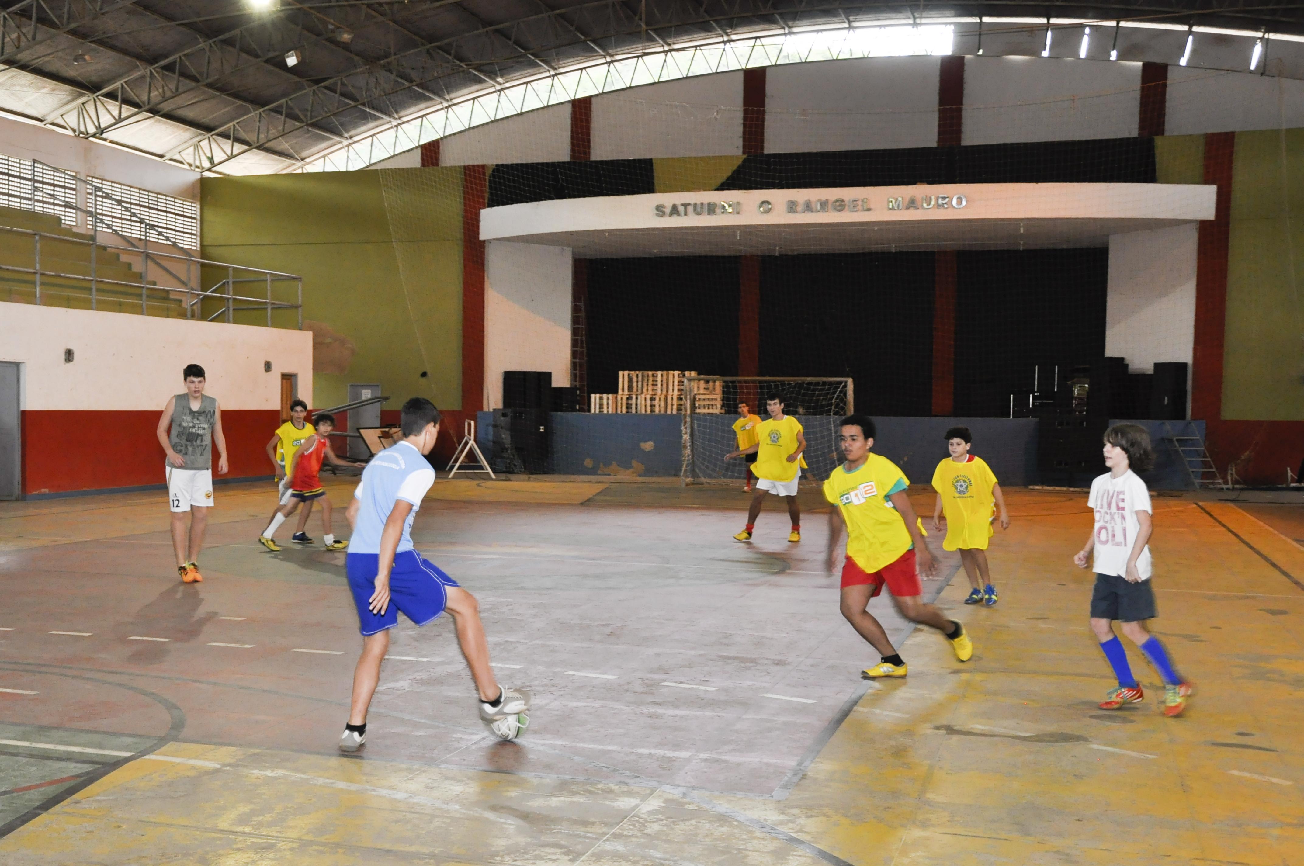 1º Torneio Interno de Futsal de Itarana começa nesta quinta-feira (21)